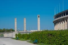Olimpijski stadium w Berlińskim Niemcy obraz royalty free