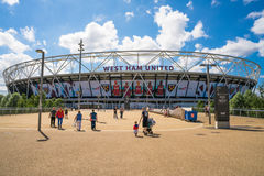 Olimpijski stadium w Londyn, UK obrazy stock