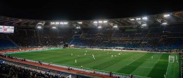 Olimpijski stadium w Rzym, Włochy obrazy royalty free