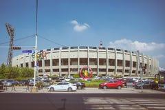 Olimpijski stadium widok w Seul fotografia stock