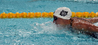 Olimpijskiego mistrza hungarian pływaczka Katinka Hosszu Obraz Royalty Free