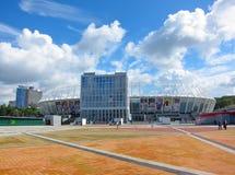 Olimpiyskiy全国体育复合体,基辅乌克兰 免版税库存图片