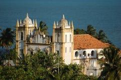 Olinda - Church. Olinda, Brazil - World-wide patrimony of humanity royalty free stock image
