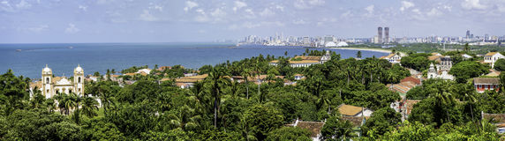 Olinda e Recife Fotografie Stock