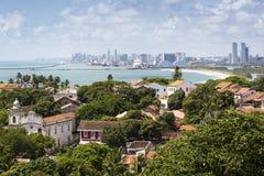 Olinda e Recife Foto de Stock