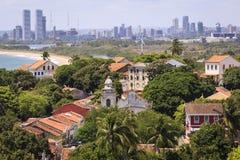Olinda e Recife Fotografia Stock