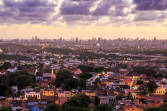 Olinda e Recife Fotografia Stock Libera da Diritti