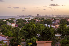 Olinda e Recife em Pernambuco, Brasil Imagem de Stock
