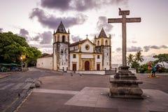 Olinda en Pernambuco, el Brasil Fotografía de archivo