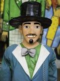 Olinda Giant Carnival Masks imagem de stock
