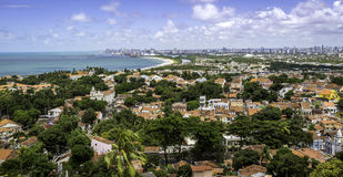 Olinda and Recife Royalty Free Stock Photo