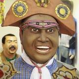 Olinda`s Carnival Decoration Stock Images