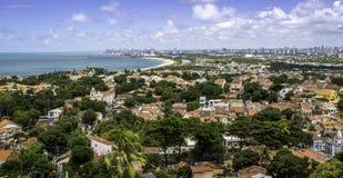 Olinda y Recife Foto de archivo libre de regalías