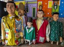 Olindas Karnevals-Kostüm Stockbilder