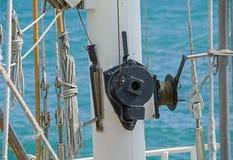 Olinowanie na statku Fotografia Stock