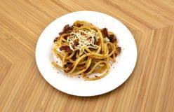 Olio aglio спагетти Стоковые Фото