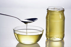 Olio d'oliva Fotografia Stock