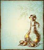 Olio d'oliva Fotografia Stock Libera da Diritti