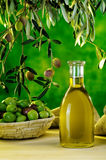 Olio d'oliva Immagine Stock