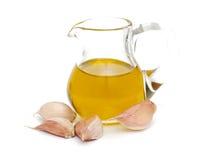 Olio d'oliva in un lanciatore Fotografia Stock