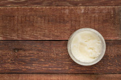 Olio da cucina della noce di cocco Immagini Stock