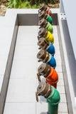 Olio del tubo Fotografie Stock