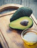Olio dell'avocado Fotografia Stock Libera da Diritti