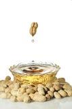 Olio di arachide Fotografie Stock