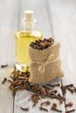 Olio di chiodo di garofano Immagini Stock Libere da Diritti