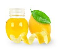 Olio di limone Immagini Stock