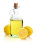 Olio di limone fotografie stock