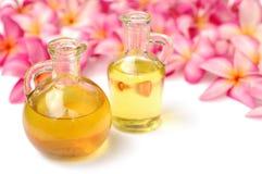 Olio di massaggio Immagini Stock