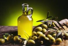 Olio di oliva 1 Fotografia Stock Libera da Diritti