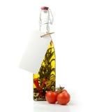 Olio di oliva casalingo Fotografia Stock Libera da Diritti