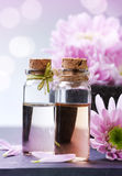Olio essenziale della stazione termale Fotografia Stock