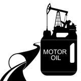 Olio per motori Immagini Stock
