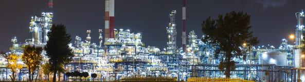 Olio Rafinery immagini stock