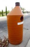 Olio residuo Cotainer Fotografia Stock Libera da Diritti