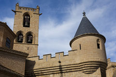 Olite castle Stock Photography