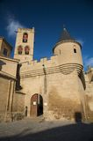Olite castle entry Royalty Free Stock Photography