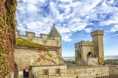 Olite Castle, Navarre Stock Photo