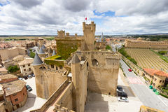 Olite in Navarra, Spain Stock Image