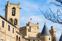 Olite Royal Palace Stock Photos