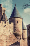 Olite slott Arkivfoton