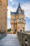 Olite slott i Navarra, Spanien Royaltyfri Foto