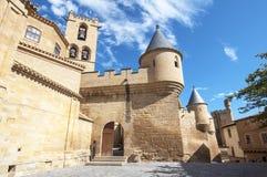 Olite slott, Navarre Royaltyfri Foto