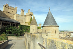 Olite, State run hotel,Navarre,Spain Stock Image