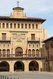 Olite town hall,Navarre,Spain Royalty Free Stock Images