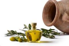Oliv för Olioextravergine e Royaltyfri Fotografi