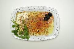 Oliv i maträtt Royaltyfria Bilder